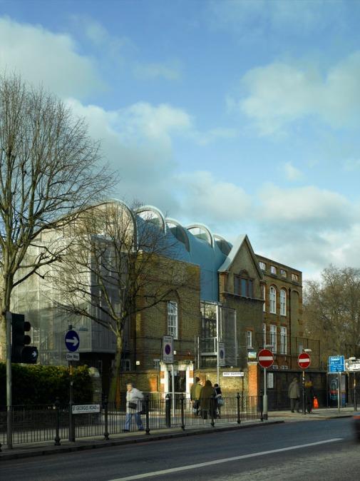 Photographer: Richard Bryant/arcaid.co.uk Arcaid ref: 11246-20-1 Title: Siobahn Davies Studios Architect: Sarah Wigglesworth Architects