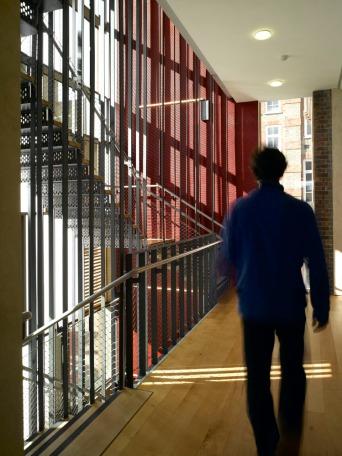Photographer: Richard Bryant/arcaid.co.uk Arcaid ref: 11246-230-1 Title: Siobahn Davies Studios Architect: Sarah Wigglesworth Architects